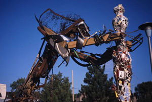 Adopt-a-River state fair sculpture 1998