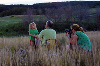Photo of family enjoying Blanket Flower Prairie SNA