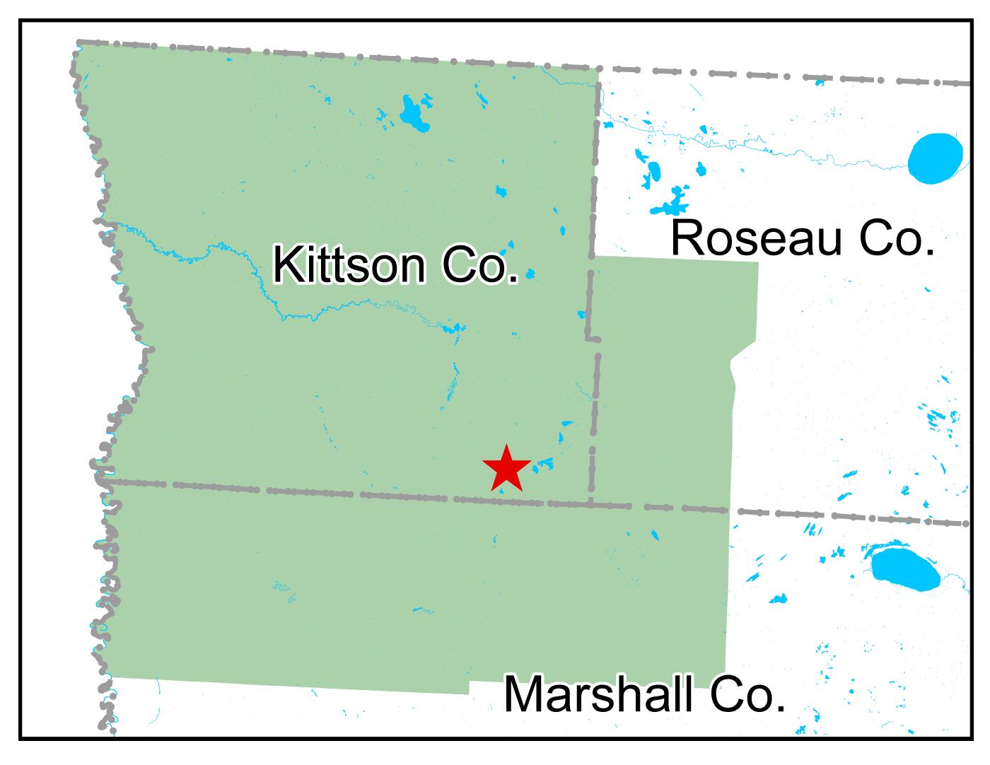 Map of Karlstad work area