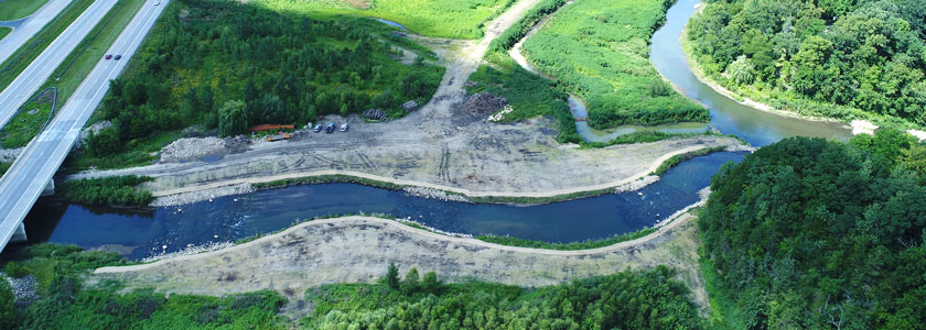 Overview of Middle Fork Zumbro River Stream Restoration