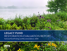 Text:Legacy Fund Restoration Evaluation Report Cover