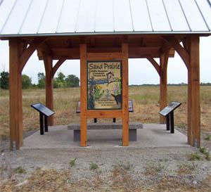 Sand Prairie Kiosk