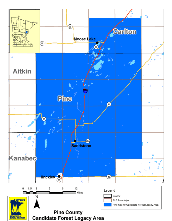 Pine County Forest Legacy Area
