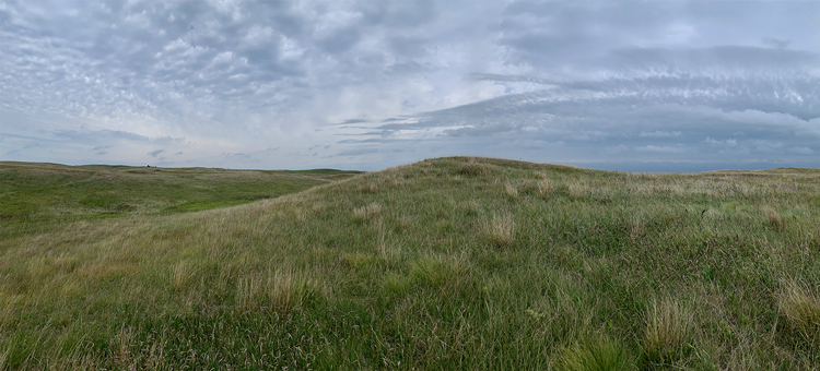 Summer storm at Mound Spring Prairie