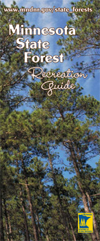 Graphic: State Forest recreation guide cover