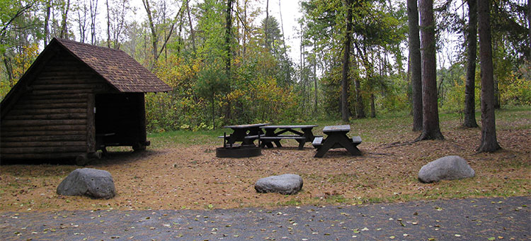 group camp at Lake Shetek State Park