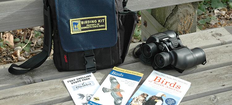 Minnesota State Parks birding kit