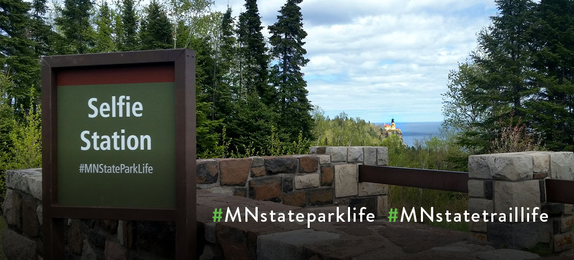 Minnesota State Parks and Trails Selfie Stations