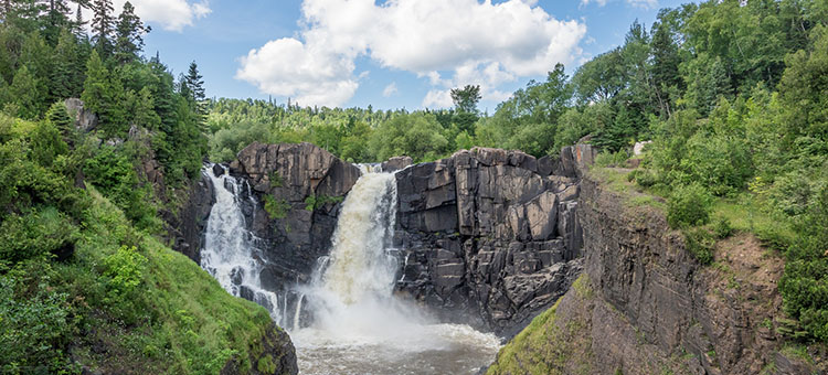 Waterfalls at Grand Portage State Park