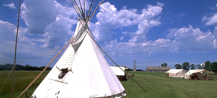 Tipis at Upper Sioux Agency State Park