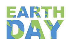 Graphical text: Earth Day