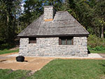 Photo of the Flandrau State Park Stone Civilian Conservation Corps Cabin