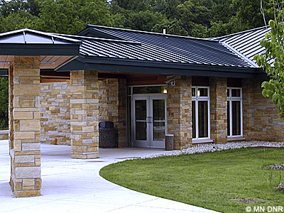 William H. Morrissey visitor center.