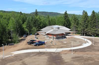 visitor center construction