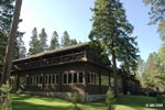 Photo of one of the many lodging options at Itasca State Park