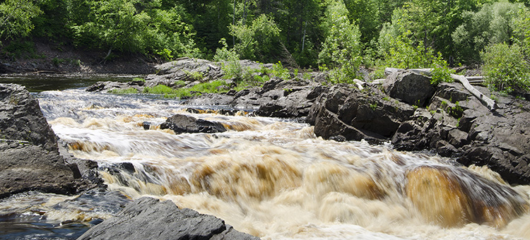 Rapids at Jay Cooke State Park