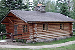 Photo of the cabin at Scenic State Park