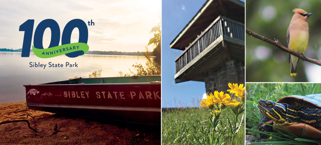 Sibley State Park's 100th Anniversary.