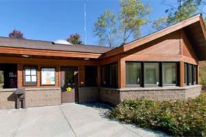 Photo of Bear Head Lake State Park Headquarters.