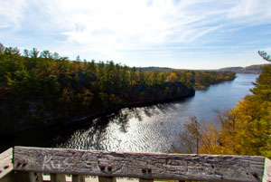 Photo overlooking the St. Croix River from Highway 95.