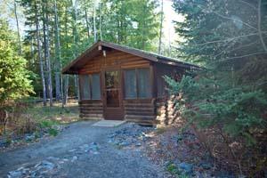 Photo of a camper cabin.