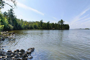 Photo of Armstrong Bay, on Lake Vermilion.
