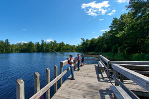 Photo of Lake Shumway Fishing Pier.