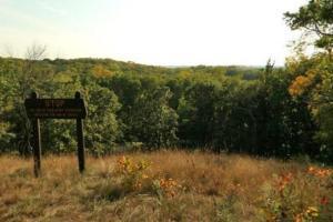 Photo of the overlook on Little Mount Tom.