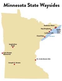 Find a Minnesota state wayside