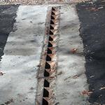 Slotted vane drain image
