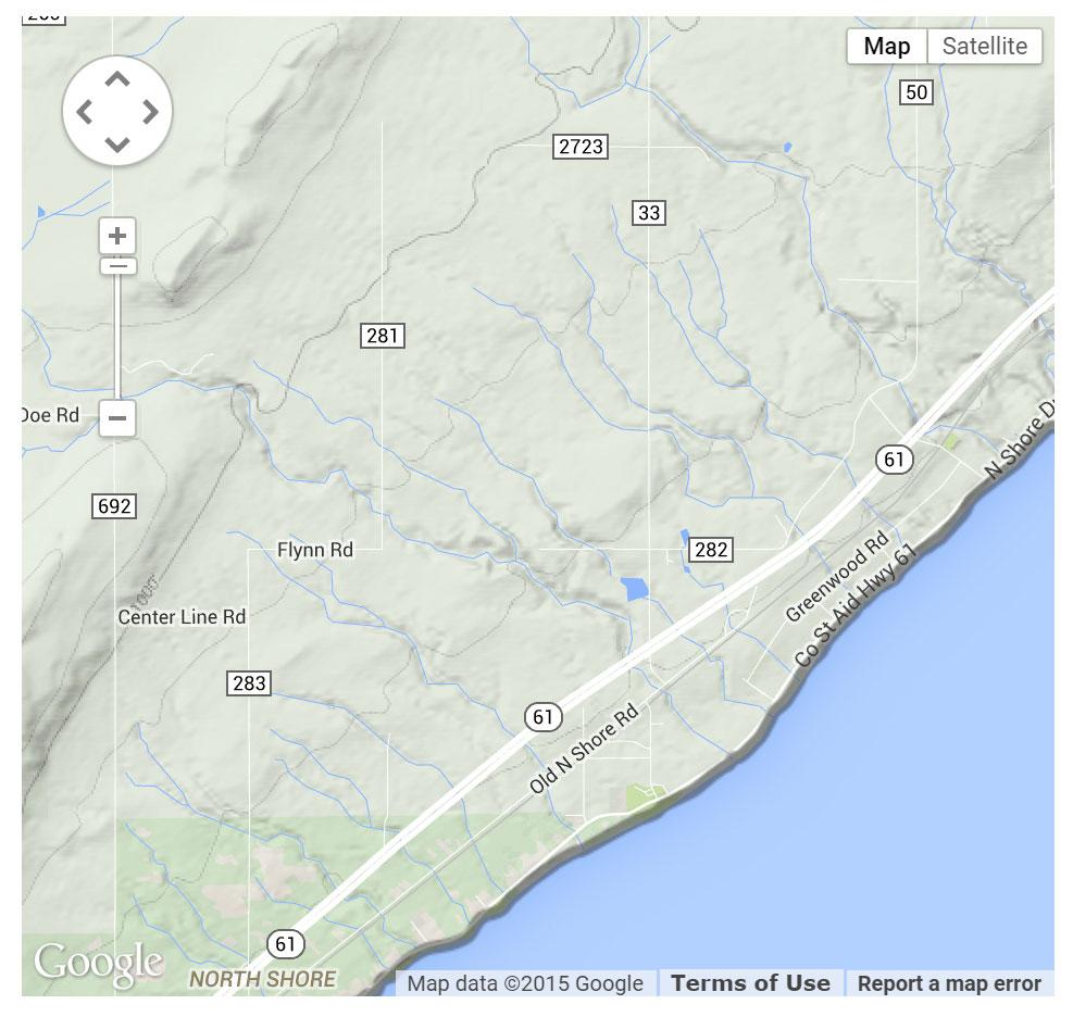 McQuade Small Craft Harbor location map
