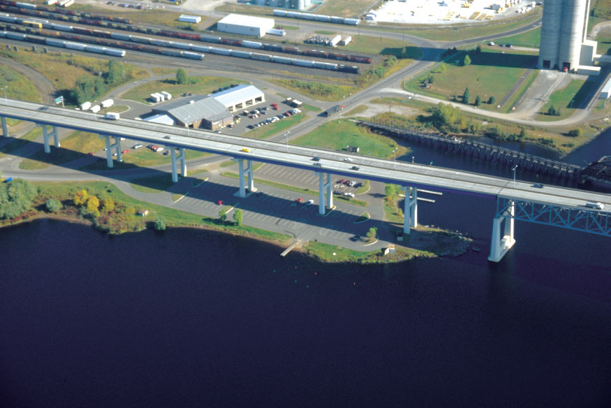 Rice's Point is a protected public water access located in the Duluth-Superior area along the shore of Lake Superior.