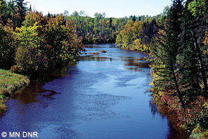 Little Fork River at county road 356