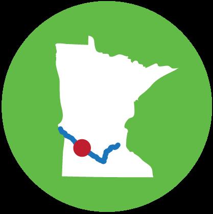 River locator map