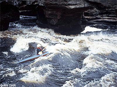 Class IV rapids.
