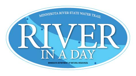 River in a Day bumper sticker