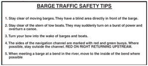 barge safety tips