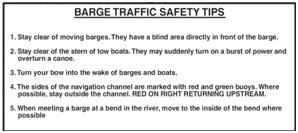 barge safety tips