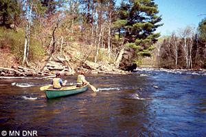 Vermilion River canoeing