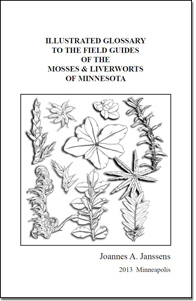 Cover of the Illustrated Glossary to the Field Guides of the Mosses and Liverworts of Minnesota