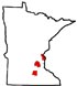 Chisago, Hennepin, LeSeuer counties