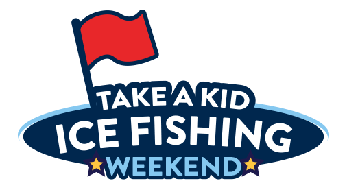 Take a Kid Ice Fishing Logo