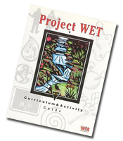 Cover of Project WET curriculum and activity guide