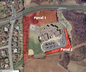 photo: Glacier Hills School Forest Google Map example