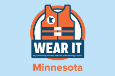 Wear it Minnesota! (Life jacket logo)