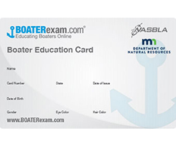 boater card
