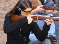 youth shooting practice