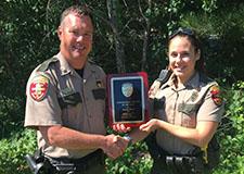 officer awarded