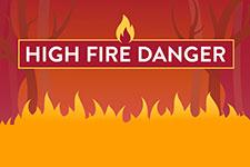 High Fire Danger graphic.