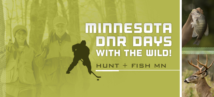 Minnesota DNR Days with the Wild Banner